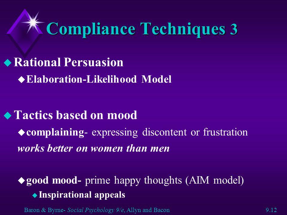 Compliance Techniques 3