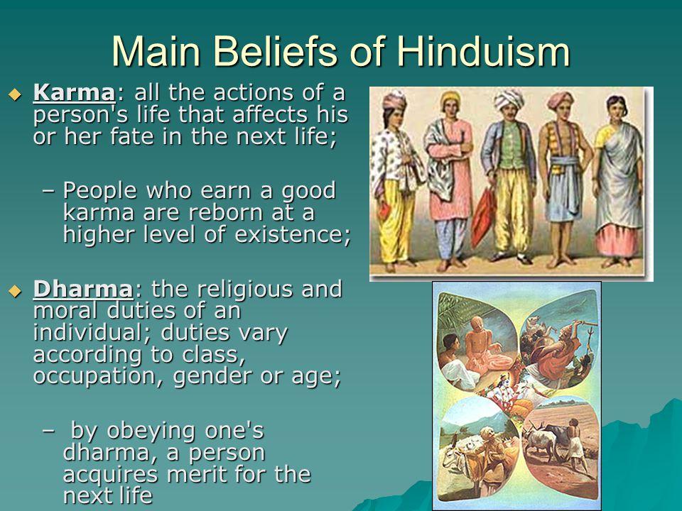 Main Beliefs of Hinduism