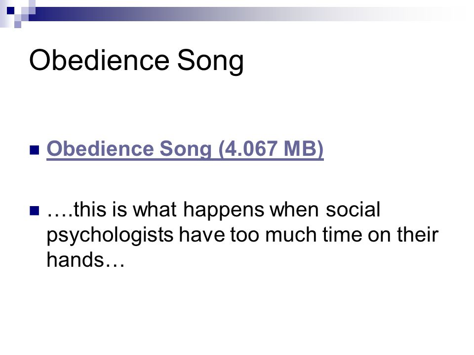 Obedience Song Obedience Song (4.067 MB)