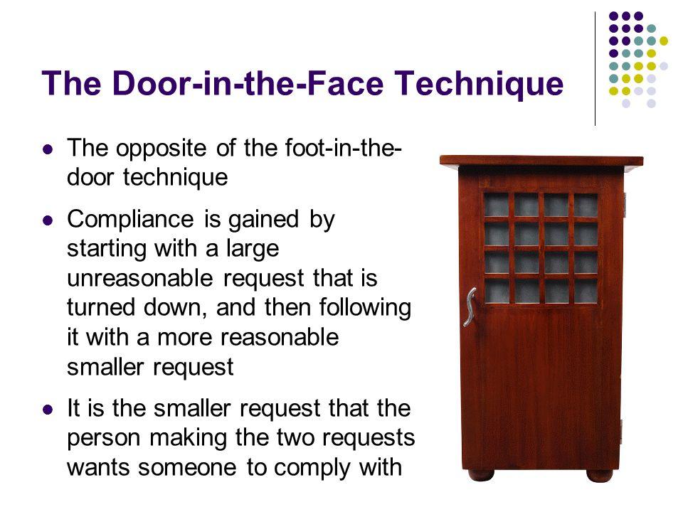 Foot Door Phenomenon 3 Sc 1 St Slideshare