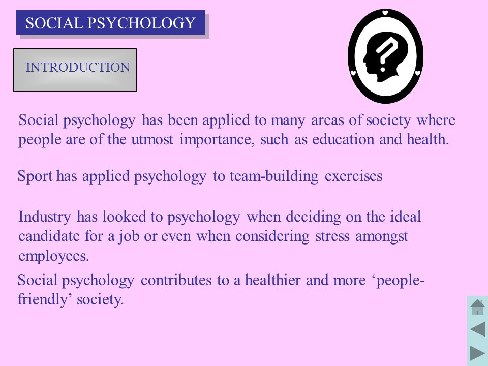 Sport has applied psychology to team-building exercises
