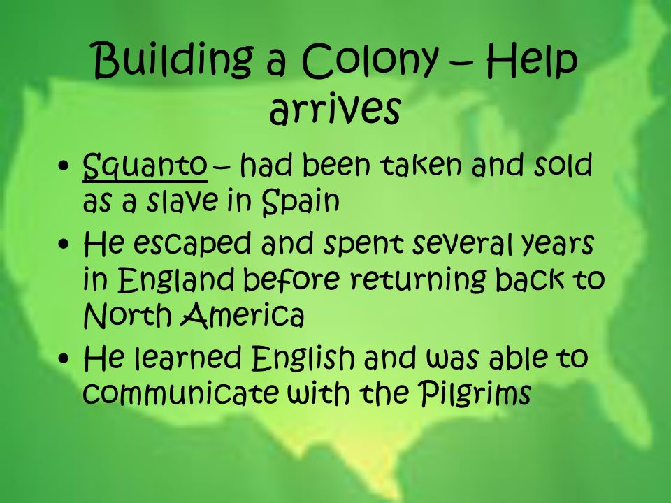 Building a Colony – Help arrives