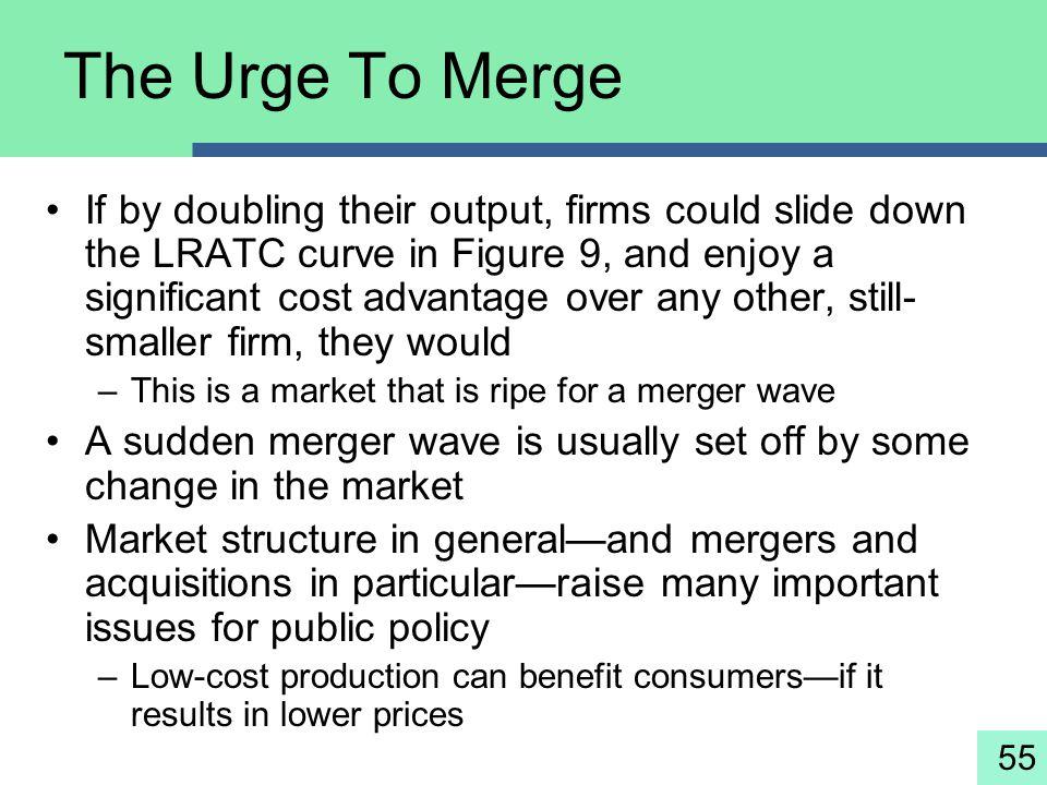 The Urge To Merge
