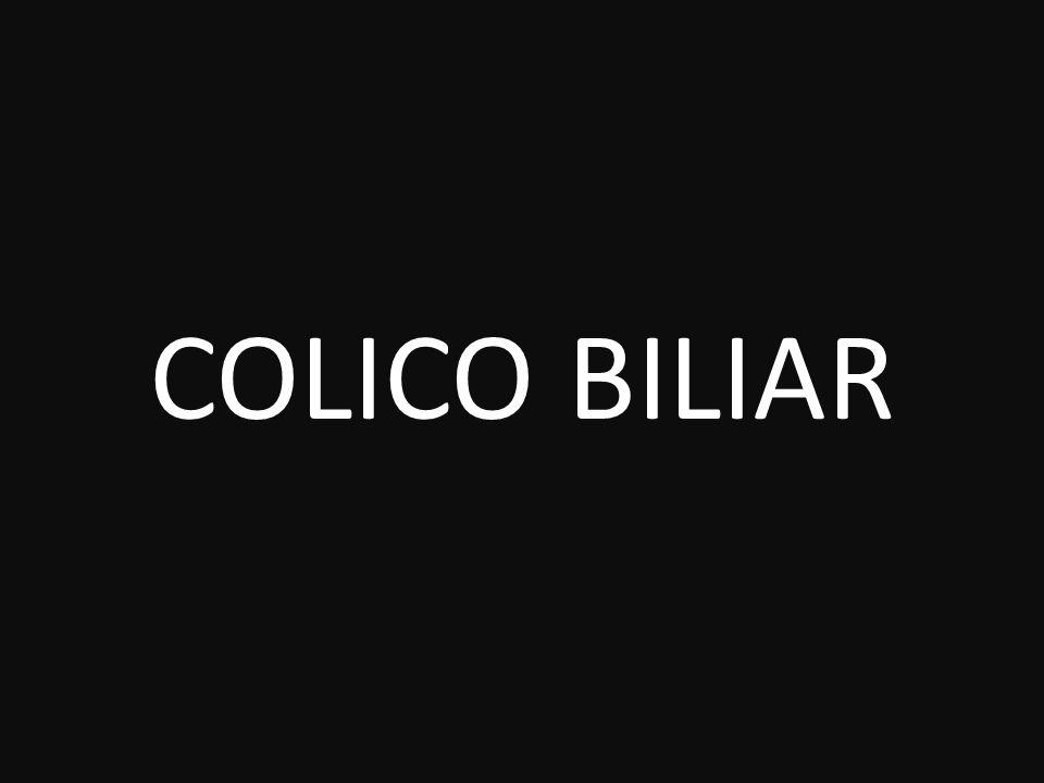 COLICO BILIAR