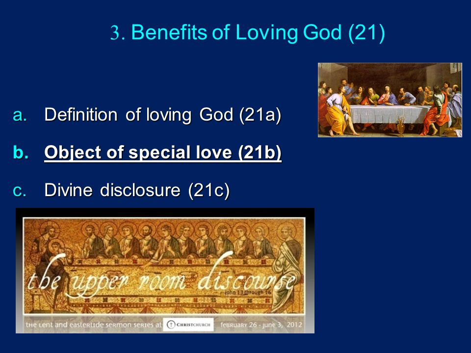 3. Benefits of Loving God (21)