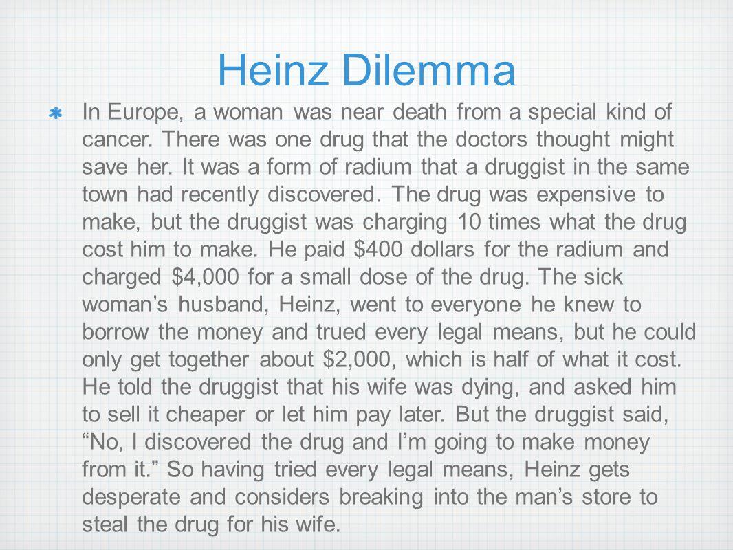Heinz Dilemma