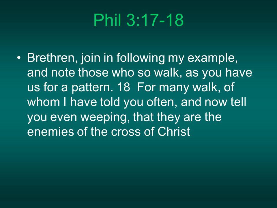 Phil 3:17-18