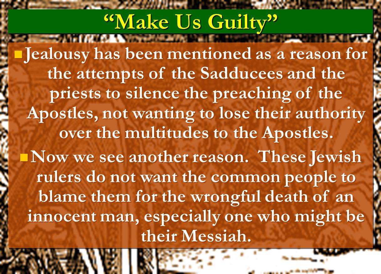 Make Us Guilty