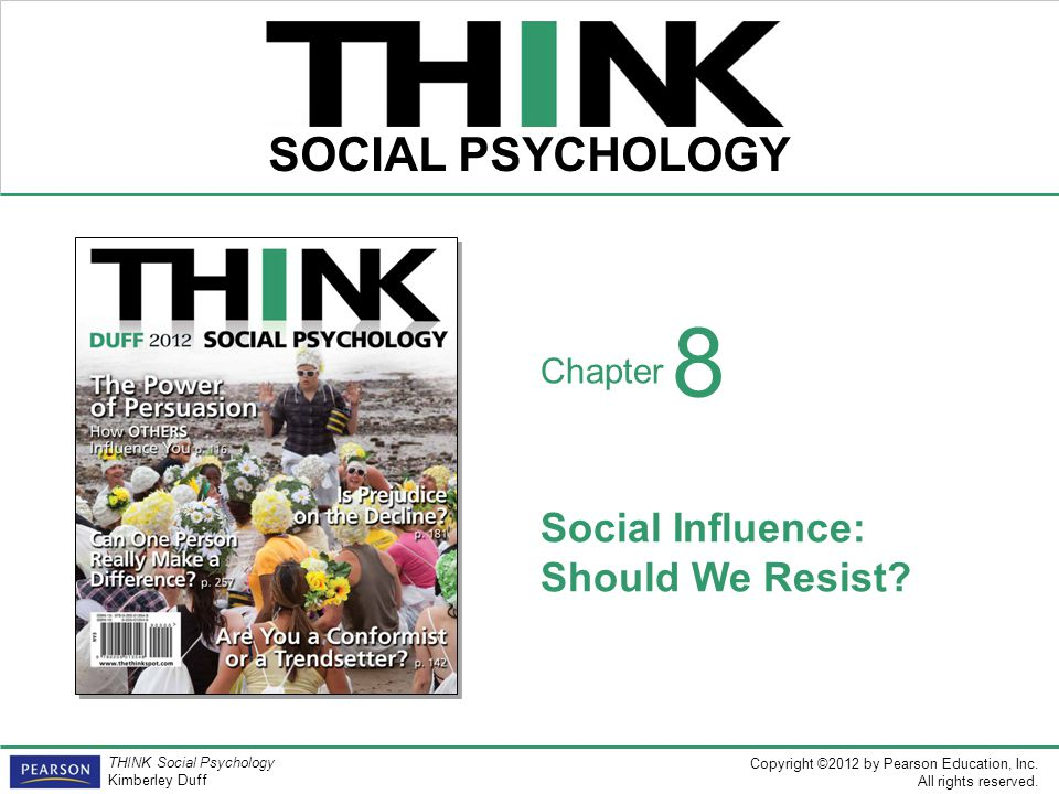 Social Influence: Should We Resist