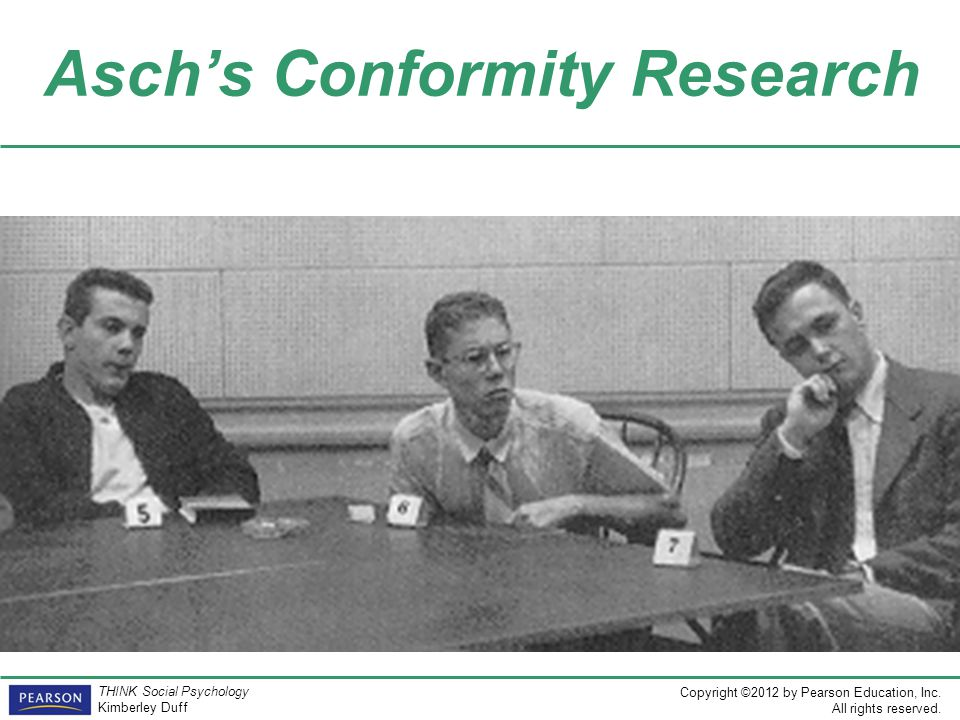 Asch's Conformity Research