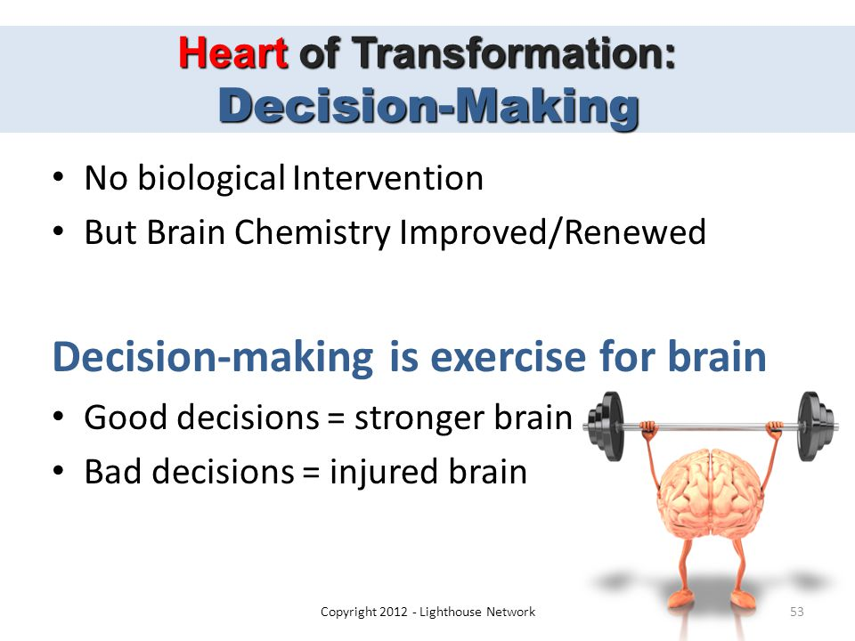 Heart of Transformation: Decision-Making