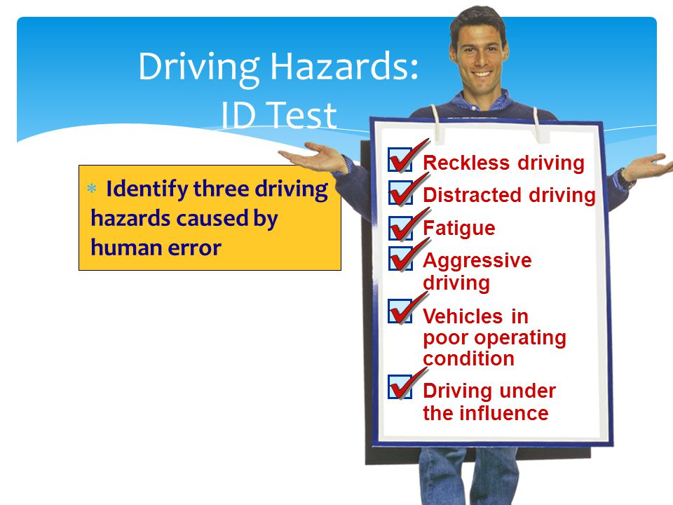 Driving Hazards: ID Test