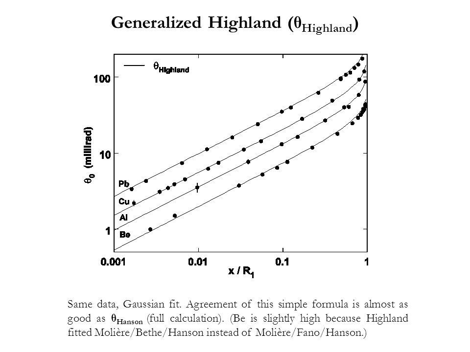 Generalized Highland (θHighland)