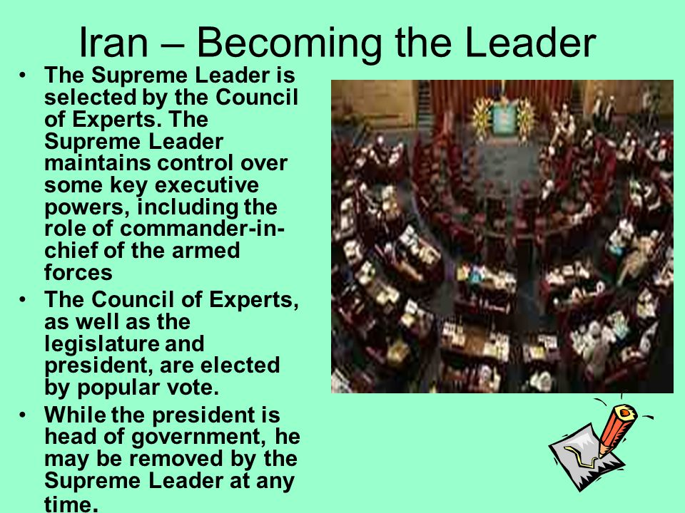 Iran – Becoming the Leader