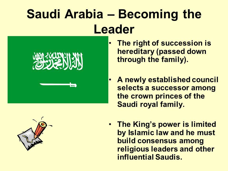 Saudi Arabia – Becoming the Leader