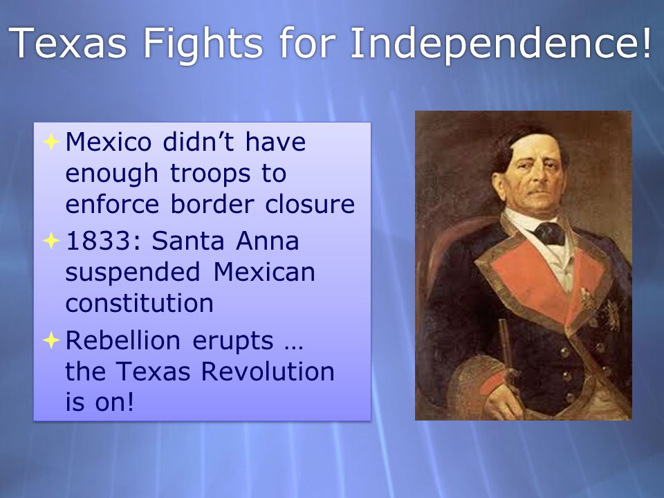 Texas Fights for Independence!