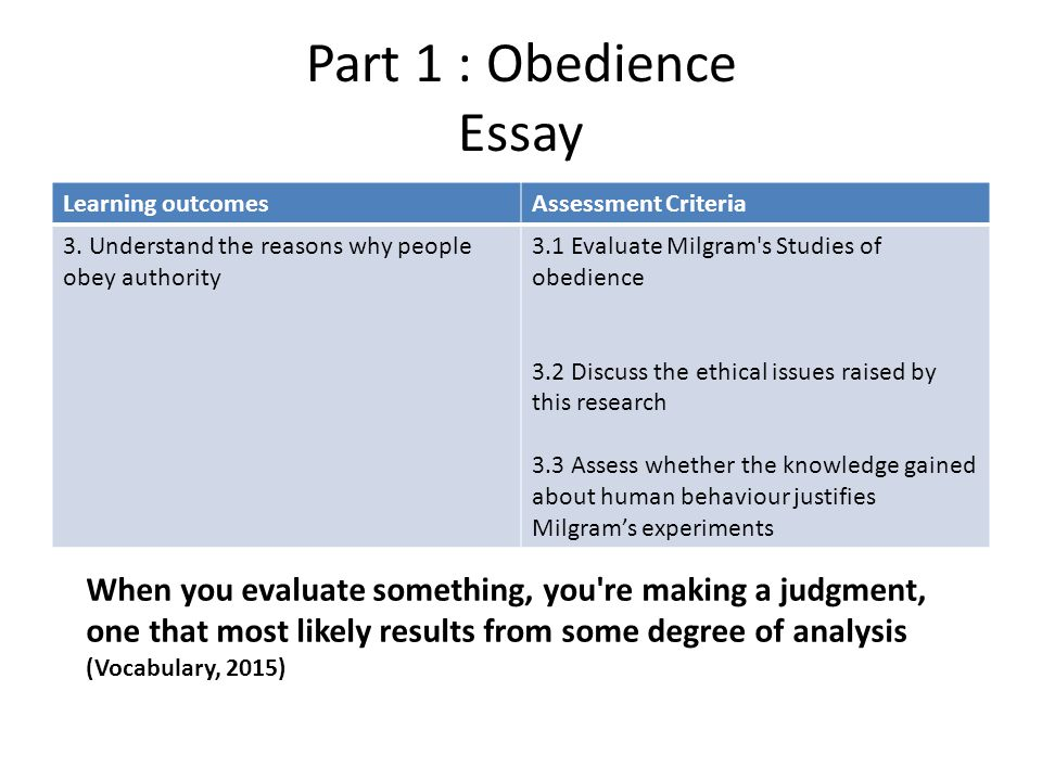 essay about conformity