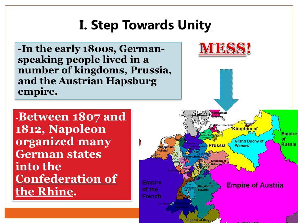 MESS! I. Step Towards Unity