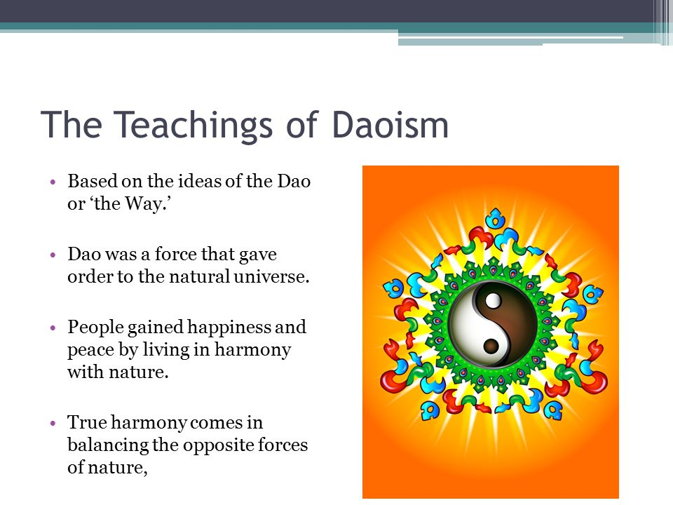 The Teachings of Daoism