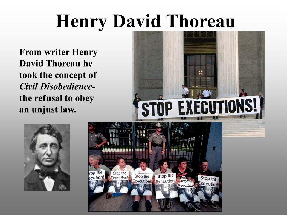 Henry David Thoreau From writer Henry David Thoreau he