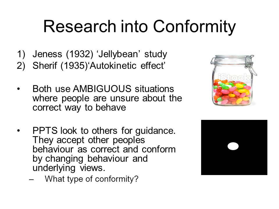 Research into Conformity