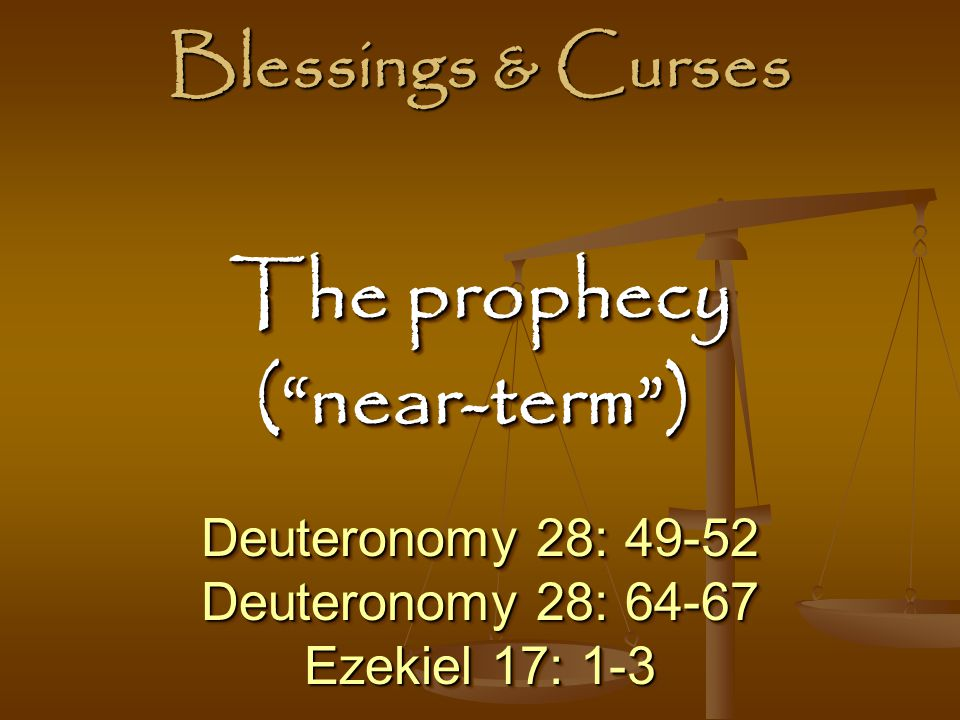 The prophecy ( near-term )
