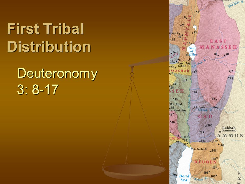 First Tribal Distribution