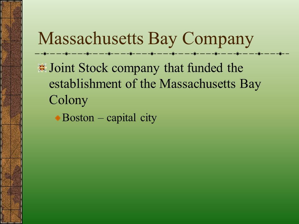 Massachusetts Bay Company