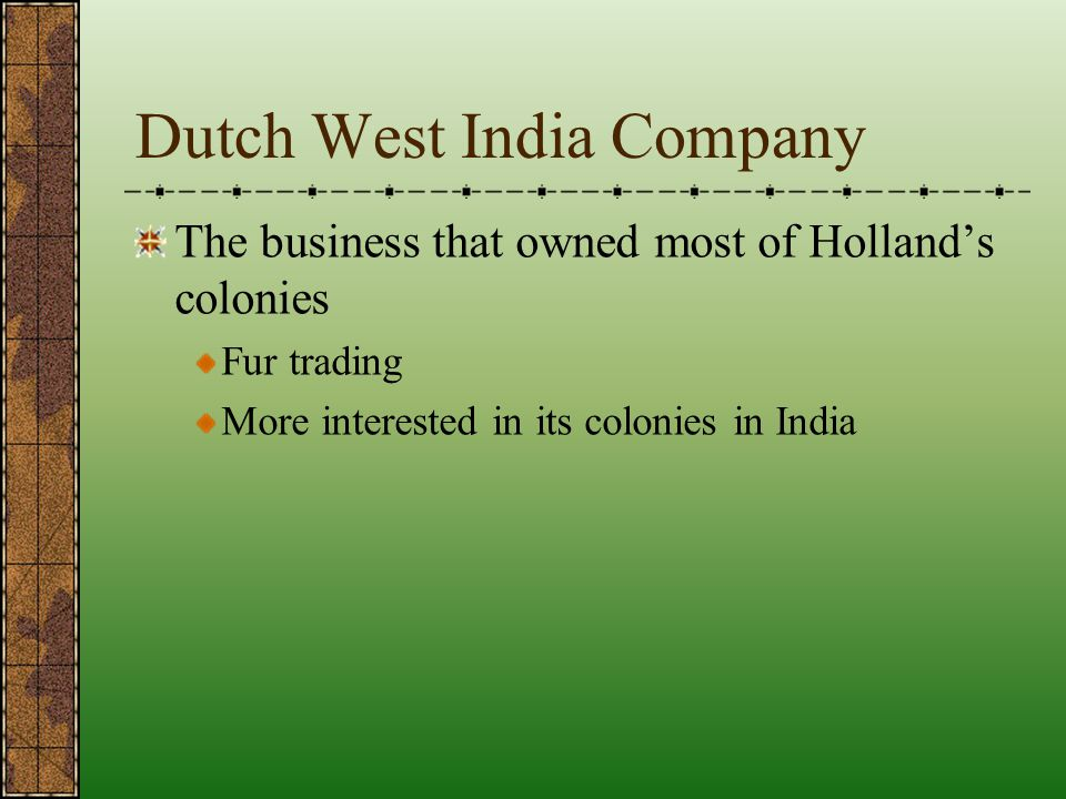 Dutch West India Company