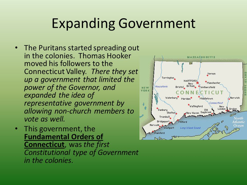 Expanding Government