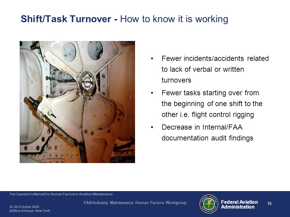 Agenda Why is Shift/Task Turnover Important