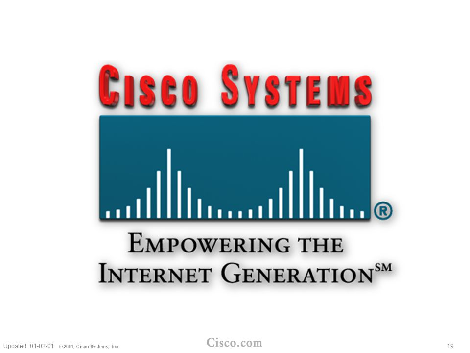 Updated_01-02-01 © 2001, Cisco Systems, Inc. 19