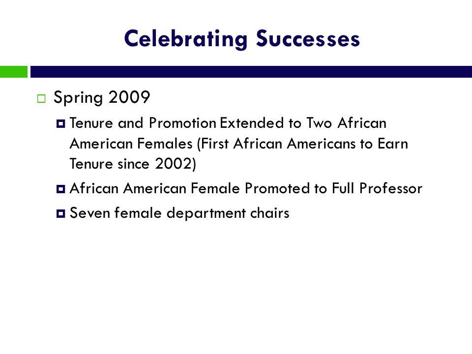 Celebrating Successes