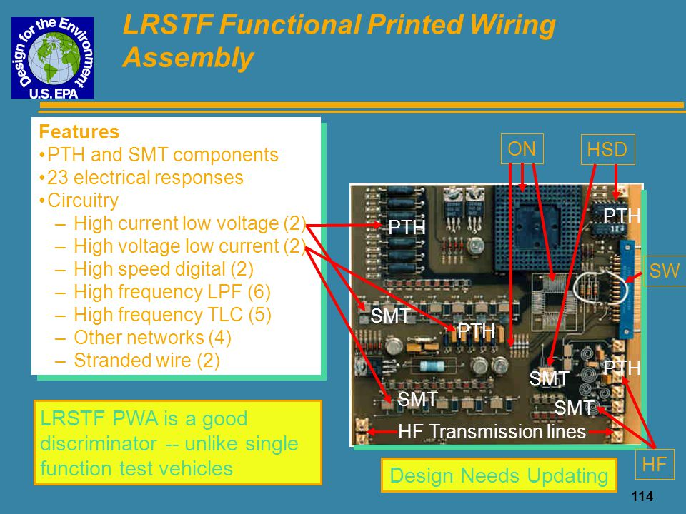 LRSTF Functional Printed Wiring Assembly