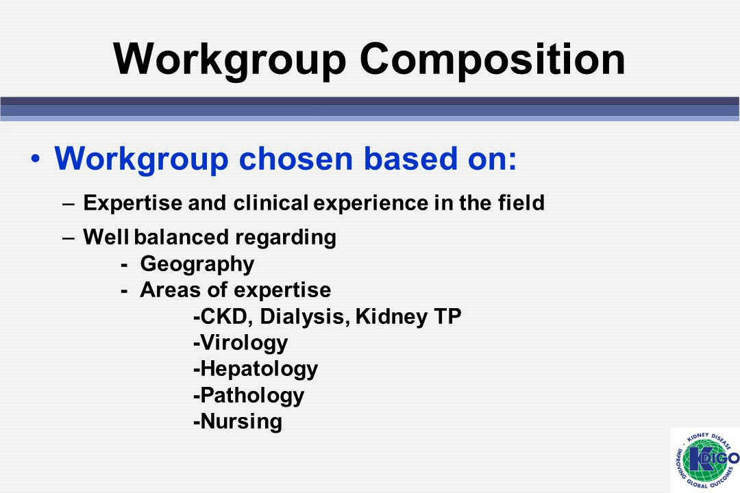 Workgroup Composition