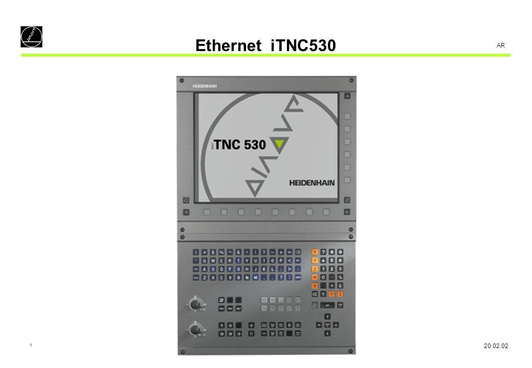Ethernet iTNC530 AR