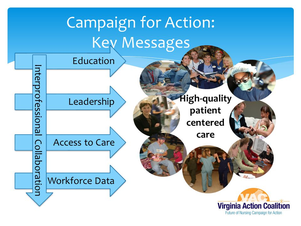 Campaign for Action: Key Messages