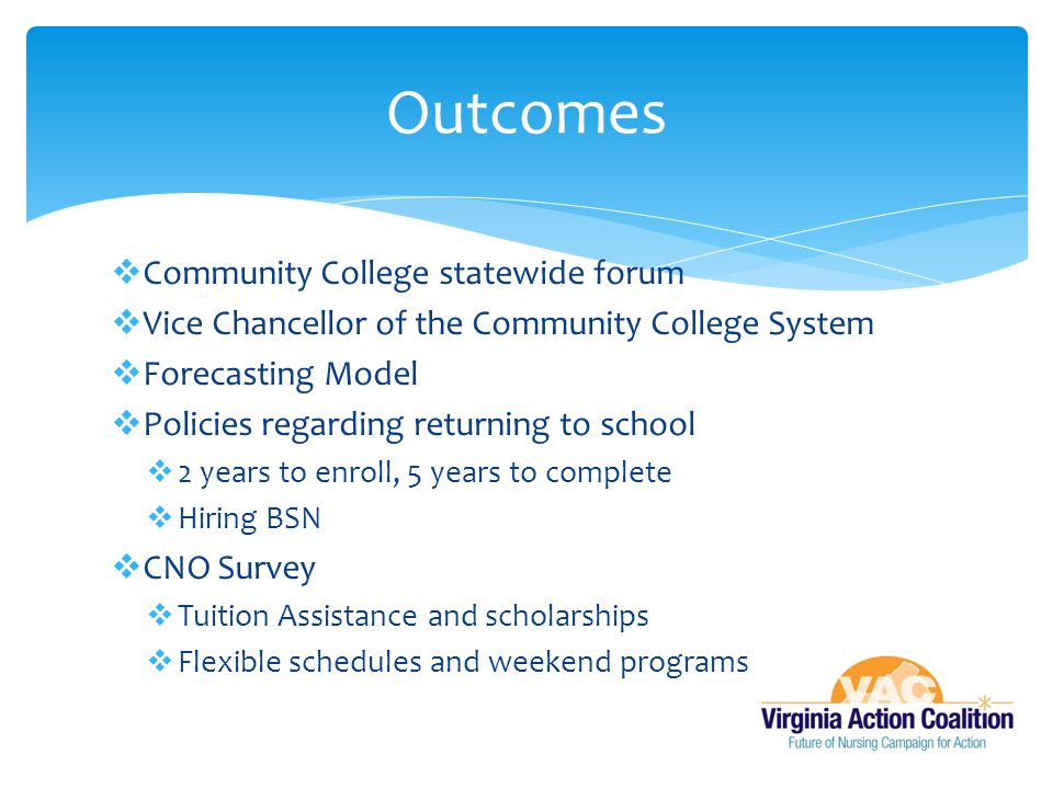 Outcomes Community College statewide forum