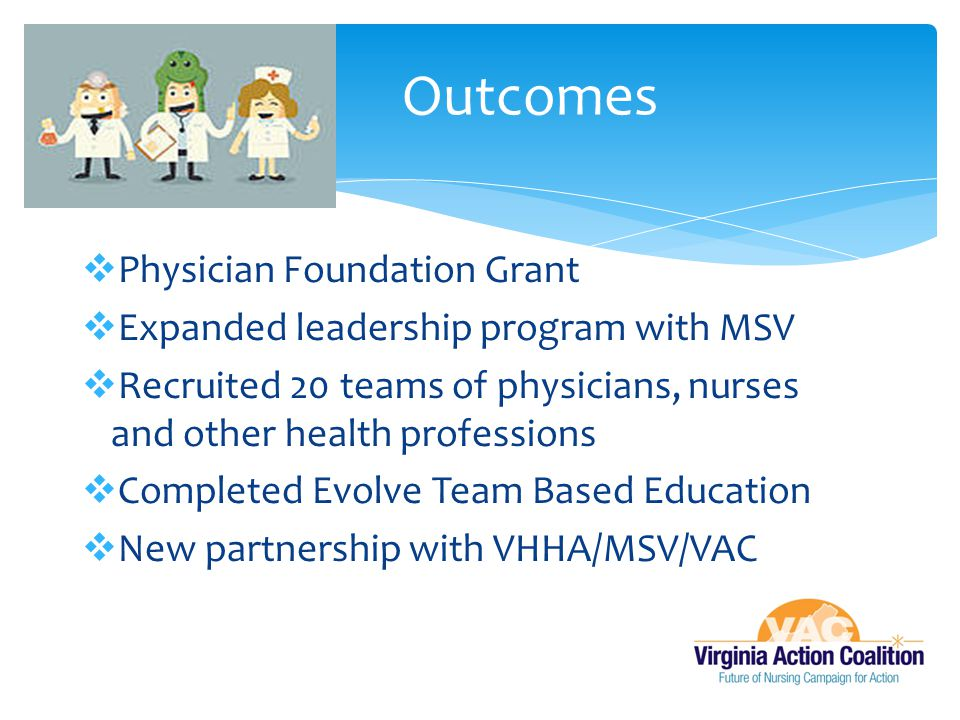Outcomes Physician Foundation Grant