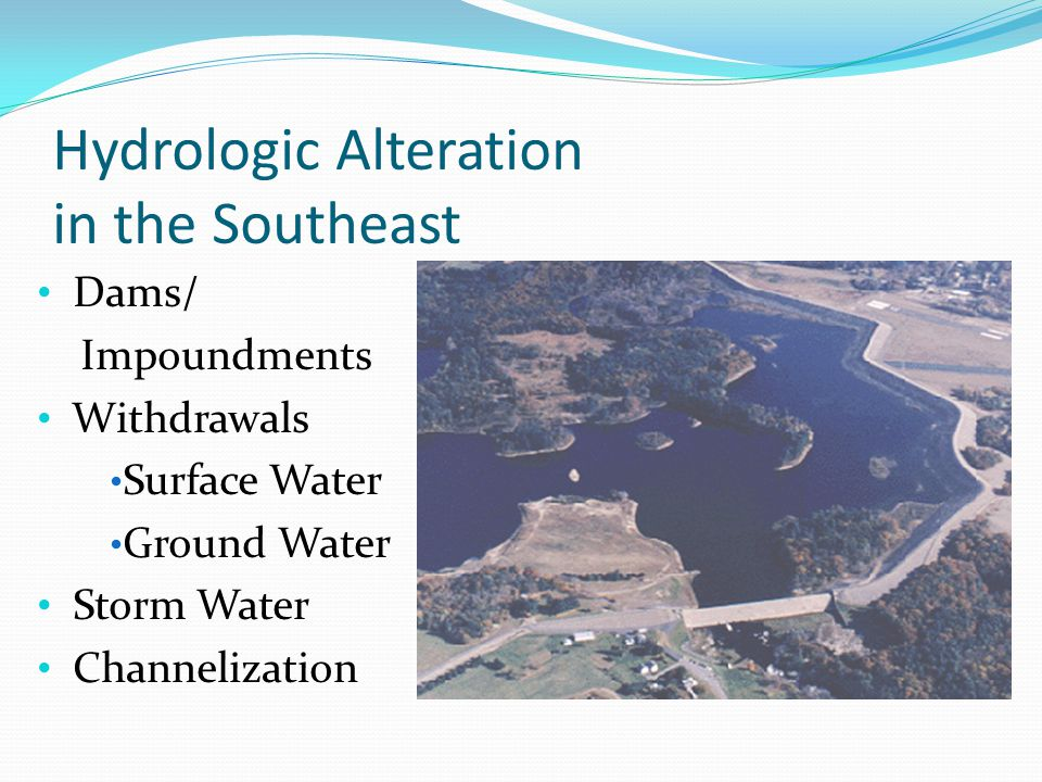 Hydrologic Alteration in the Southeast