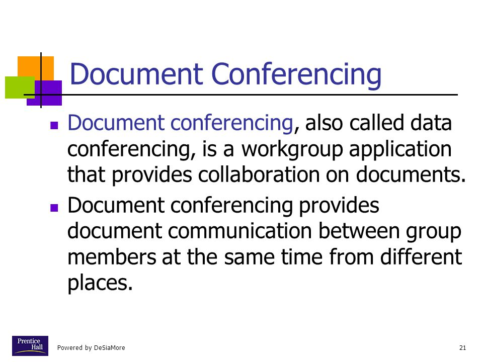 Document Conferencing