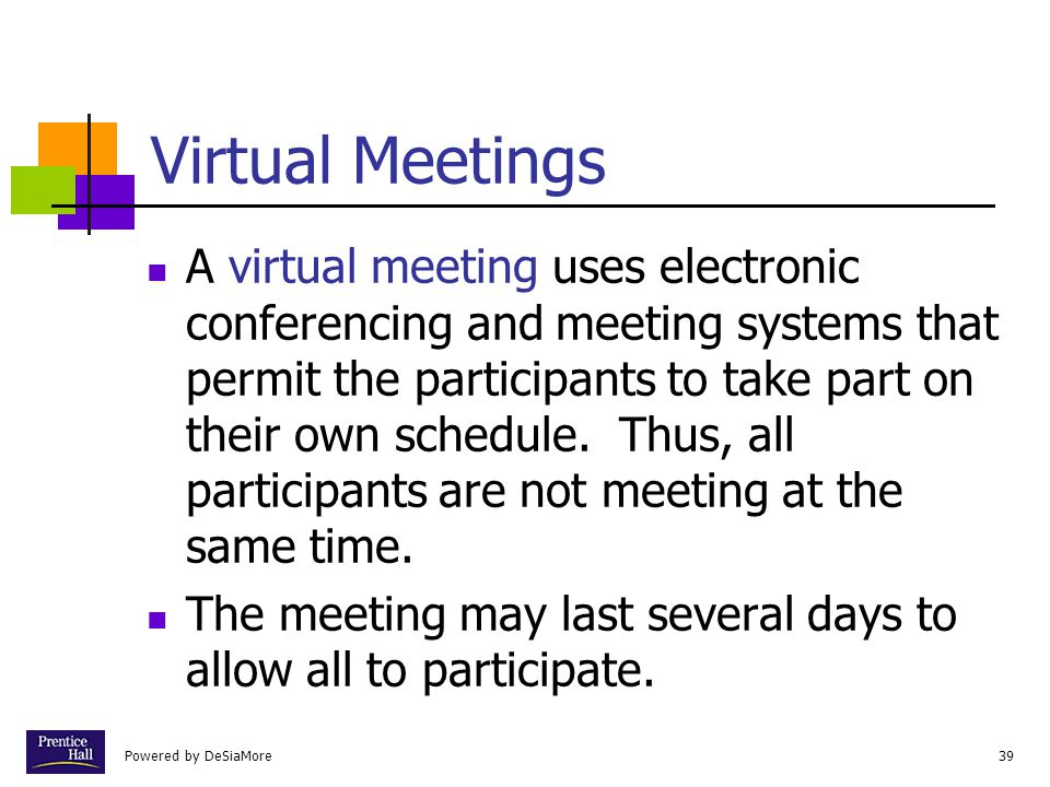 Chapter Virtual Meetings.