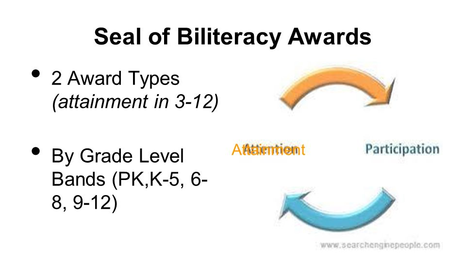 Seal of Biliteracy Awards