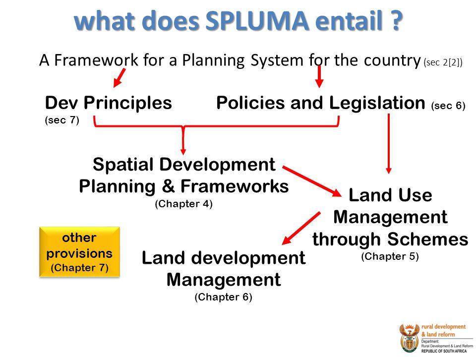 what does SPLUMA entail