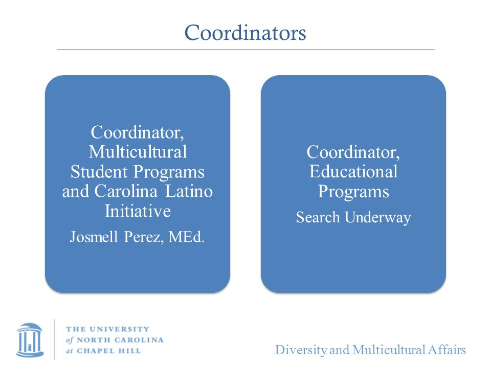Coordinator, Educational Programs