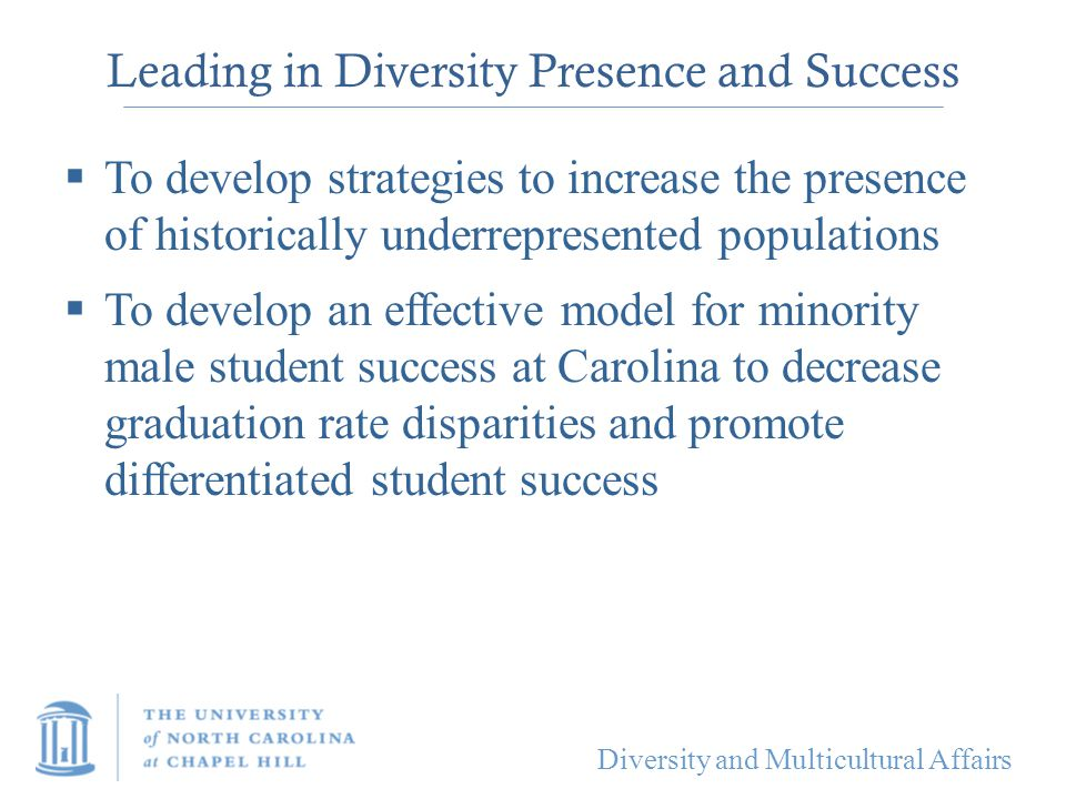 Leading in Diversity Presence and Success