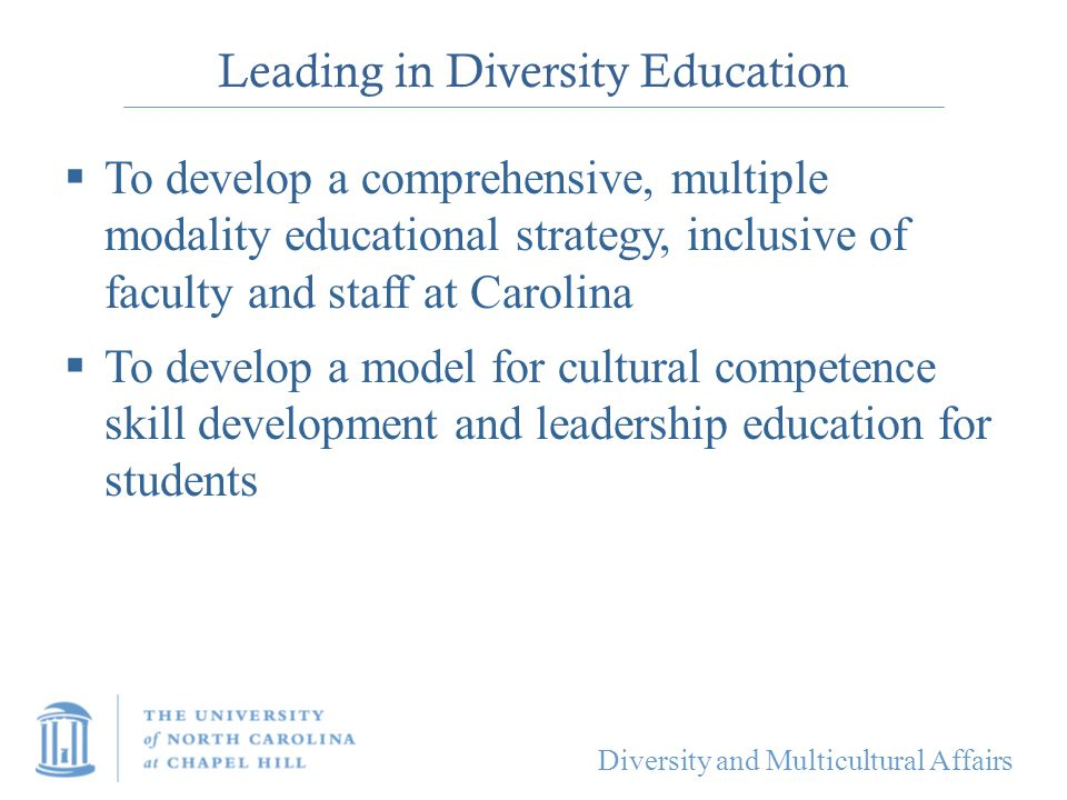 Leading in Diversity Education