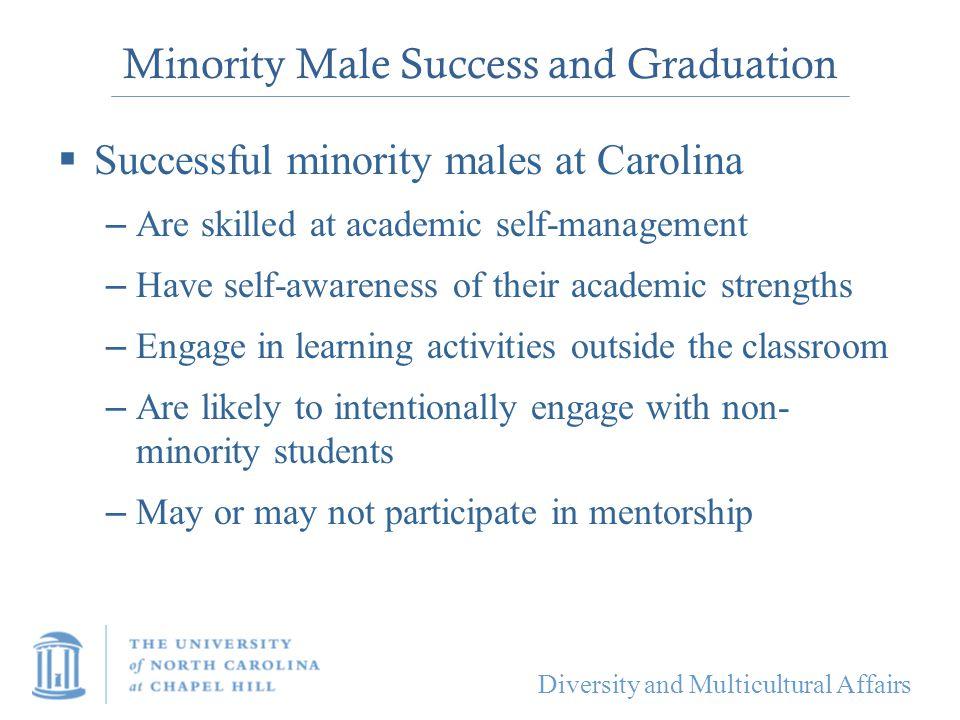 Minority Male Success and Graduation