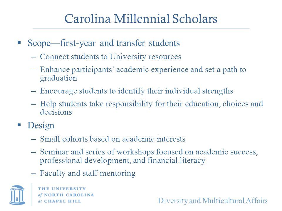 Carolina Millennial Scholars
