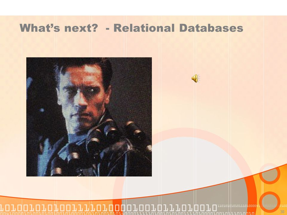 What's next - Relational Databases